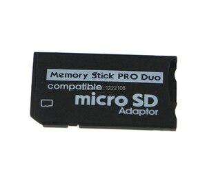 Image 5 - ChengChengDianWan Yüksek Kaliteli Mini Mikro SD SDHC TF Memory Stick MS Pro Duo Adaptörü Dönüştürücü Kartı psp 1000 için 2000 3000