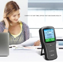 6 in 1 HCHO PM2.5 PM1.0 PM10 TVOC USB Air Quality Detector Formaldehyde Monitor Gas Analyzer LCD Precision Gas Detector air pollution monitor 6 in 1 multi function laser sensor smart calibration pm2 5 pm10 pm1 0 air quality monitor gas analyzer