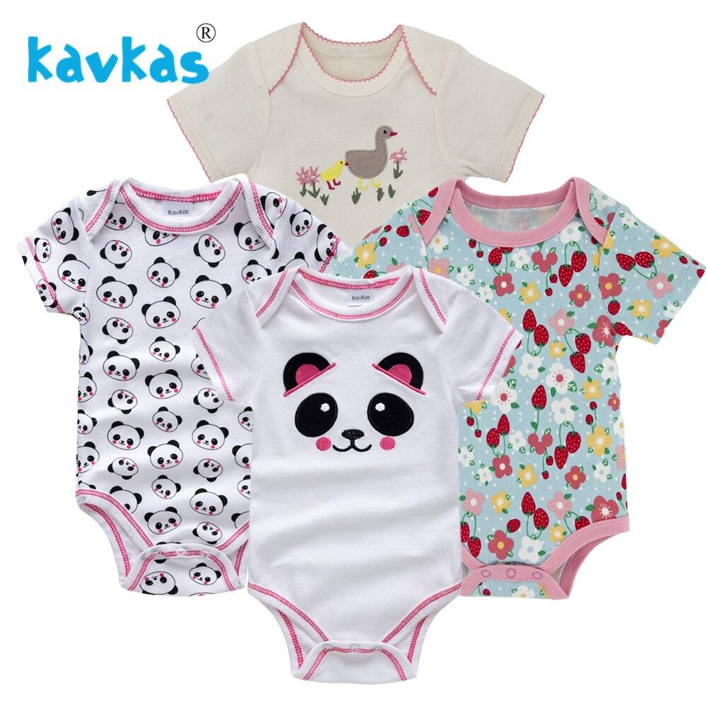 Kavkas/Пижама для младенцев 4 шт./компл. короткий рукав новорожденных Пижама для маленьких мальчиков/младенцев Одежда для маленьких мальчиков bossa nova - Цвет: HY21662168