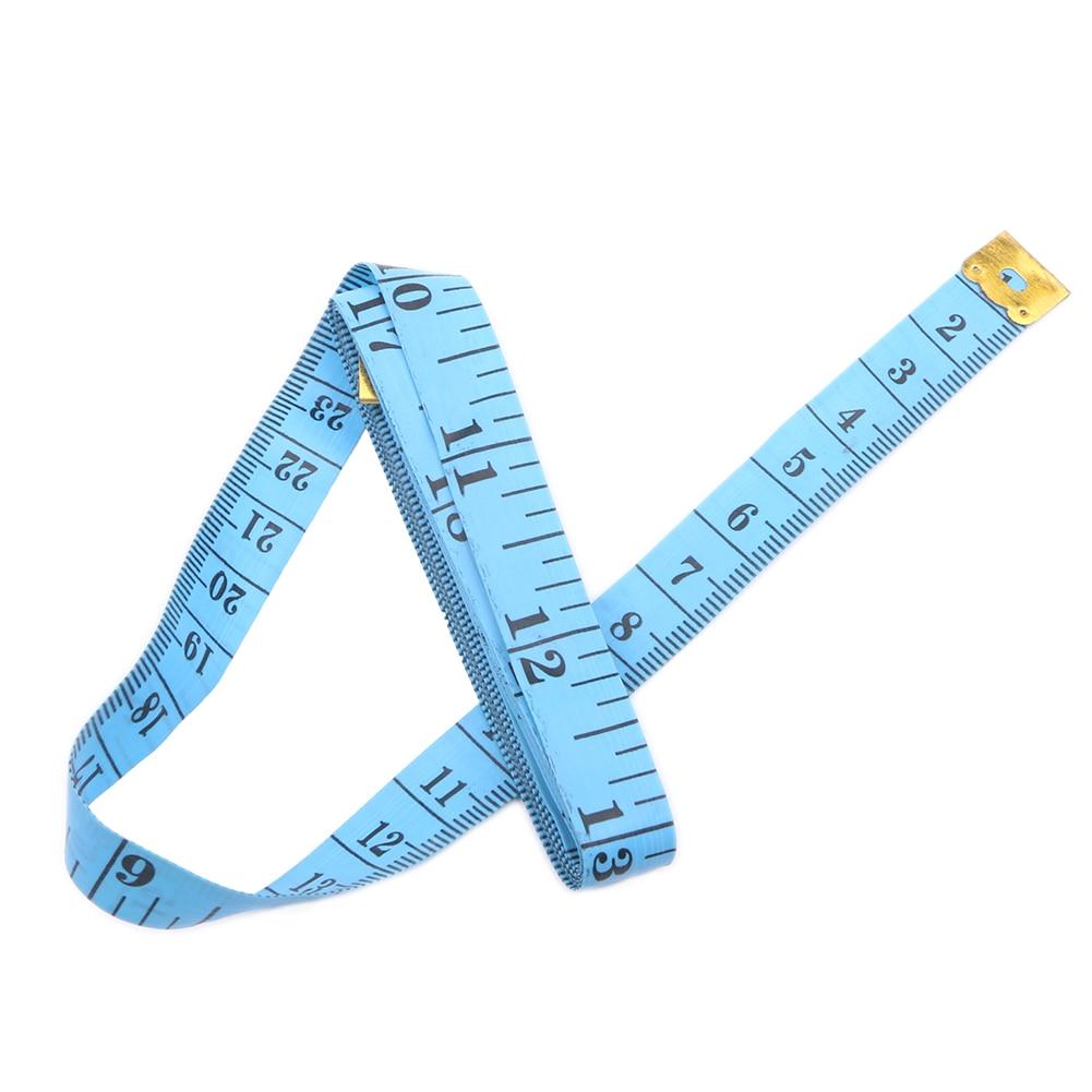 150cm Body Measuring Tape Ruler Soft Flat Sewing Tailor Measure Ruler Meter 60/'/'