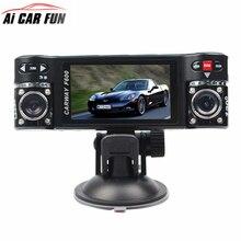 Cheap price Carway F600 Car DVR 2.7″ TFT LCD HD 1080P Dual Camera Rotated lens Vehicle Driving Digital Night Vision Camcorder Dvrs