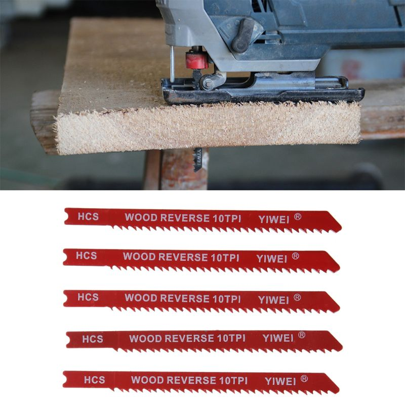 Hospitable 5pcs Durable U-shank High Carbon Steel 6 8 10 12 Tpi Reciprocating Saw Blade Cutter For Wood Jig Cutting 2019 Latest Style Online Sale 50%