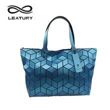 Leatury 2017 новые Для женщин сумка Довольно Повседневное тотализатор воды Cube Стиль Сумочка дизайнер известный бренд Роскошные сумки BOLSOS