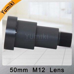 Image 3 - Объектив для видеонаблюдения Yumiki, 50 мм, M12 * 0,5, 7 градусов, 1/3 дюйма, F1.2, объектив для MTV, для камеры видеонаблюдения