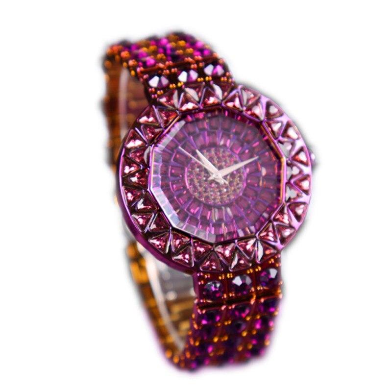 Women Watches Luxury Brand Watch Bracelet Waterproof Dropshipping 2019 Diamond Ladies Quartz Wrist Watches Relogio Feminino in Women 39 s Watches from Watches