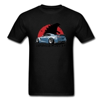 High Quality Casual Printing Tee Nissan Japanese T Shirts Men S 100 Cotton Tops Short Sleeve