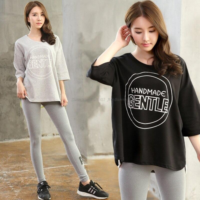 Set da yoga per donna (Camicia a maniche lunghe e pantaloni asciutti - Abbigliamento sportivo e accessori