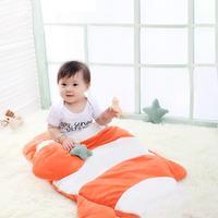 Baby Sleeping Bag Spring Autumn Winter Fish Pattern Anti Kicking Children Quilt