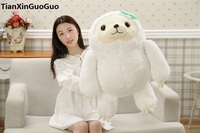 Large 65cm Lovely Cartoon Sloth Plush Toy White Sloth Soft Doll Throw Pillow Birthday Gift S0569