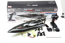 F18144 Feilun FT011 65CM Brushless Water Cooling High Speed Racing Boat RTR 2 4GHz RC Speedboat