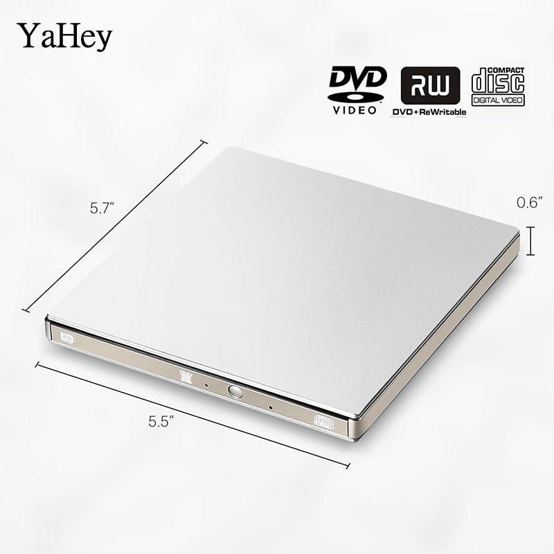 YAHEY USB 3.0 DVD ձայնագրիչ Drive Արտաքին - Համակարգչային բաղադրիչներ - Լուսանկար 1