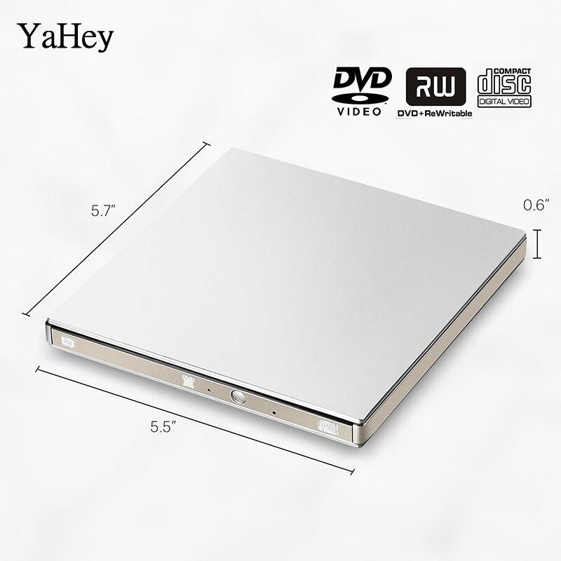 YAHEY USB 3.0 DVD Recorder Drive Drive External Optical Drive CD-ROM - Komponentët kompjuterikë