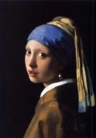 Fille à la Perle Baroque Johannes Vermeer-36