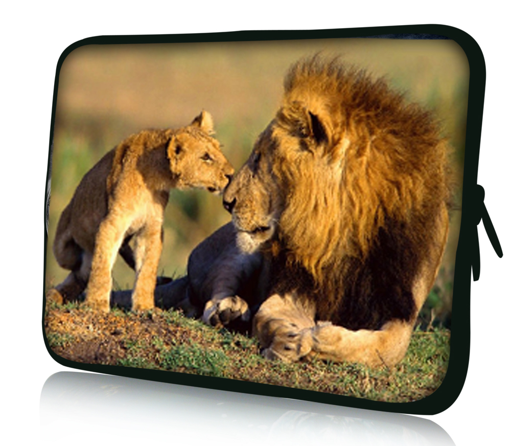 Lion 10 Laptop Bag Case Cover For 10.1 Asus Transformer Pad TF300 TF300T TF700