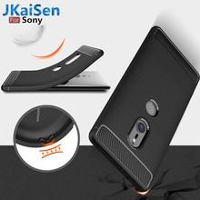 Carbon Fiber Texture Case For Sony Xperia XA1 XA2 Ultra XA2 Plus Soft TPU Case For Sony XZ3 XZ4 Compact XZ1 XZ2 Premium L2 Cover glitter rhinestone bracelet case for sony xa2 xa1 plus ultra xz premium xz1 xz2 xz4 xz3 compact covers
