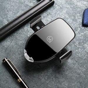 Image 5 - Chargeur de téléphone de voiture sans fil Qi de luxe, support dévent USAMS support pour téléphone de charge rapide 10W pour chargeur iPhone X XS XR Samsung S10