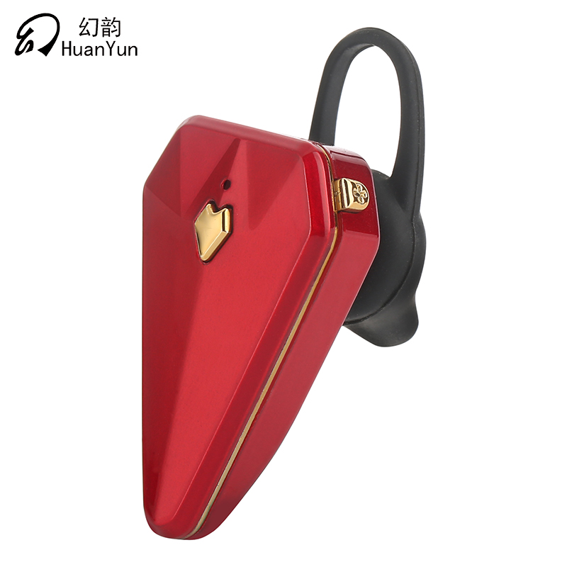 Huan Yun Bluetooth Earphone Wireless In-ear Bluetooth Headset Business Portable Style With Mic Voice Control Noise Cancelling k10 business bluetooth earphone voice command auto answer wireless business bluetooth headset headphones storage box