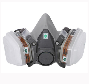 Image 3 - 27 In 1 3M 6200 Half Face Spraying Paint Gas Mask Industry Work Safety Respirator Dust Proof Mask 3M Noise Prevention Earplug