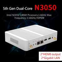 MSECORE Dual core N3050 Fanless Mini PC Windows 10 Desktop Computer Nettop Pocket PC barebone linux Intel NUC HTPC HD 4K WiFi