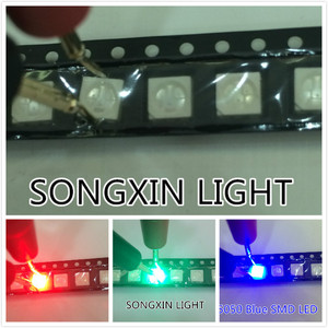 Image 2 - 2000 قطعة 5050 RGB مصلحة الارصاد الجوية/SMT LED 5050 أحمر أخضر أزرق PLCC 6 3 رقائق السوبر مشرق ضوء المصباح SMD عالي الجودة LED ملون RGB