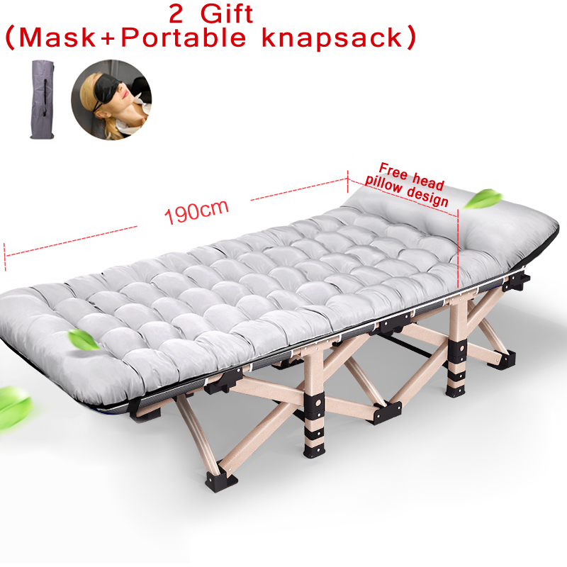 2017 New Multi-angle adjustable fold bed office nap bed with pillow fold chair & 25mm Metal Tube load 11 Pattern creative rhinestone swans pattern square shape pillow for office nap without pillow inner