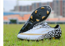 2016 Professional Outdoor Soccer Shoes men Football Boots Children Athletic Training soccer shoes cleats football soccer boots