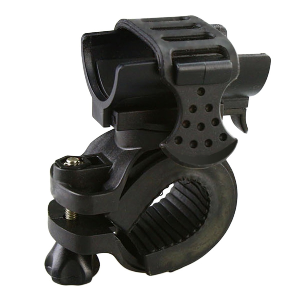 360 Degree Cycling Bicycle Bike Mount Holder For LED Flashlight Clip Clamp Wholesale