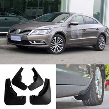 цена на Brand New  4pcs High Quality ABS Mudguard Splash Guards Fender Mud Flaps For VW CC 2013