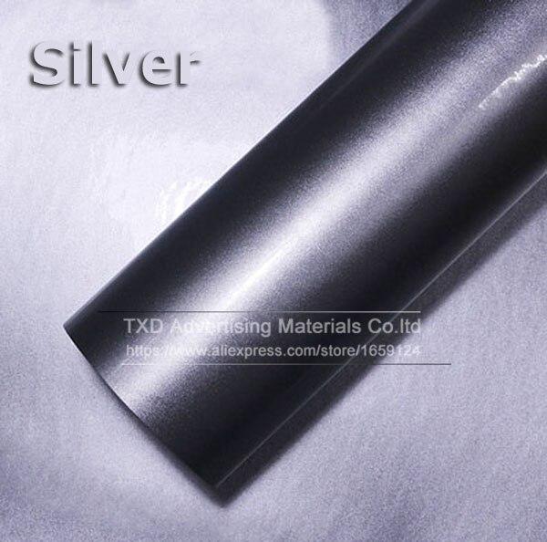 Премиум качество 10/20/30/40/50/60X152 см/лот красный металлик глянцевый блеск обертывание наклейка для автомобиля обертывание s глянцевые конфеты золото виниловая пленка - Название цвета: silver