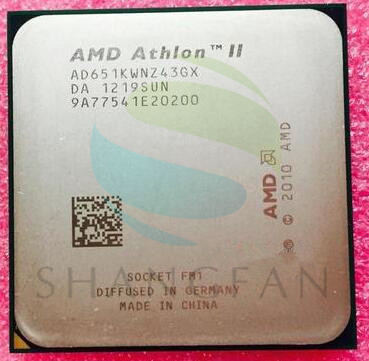 AMD Athlon X4 651 X4 651K X4-651 X4-651 3.0GHz 100W Quad-Core CPU Processor AD651KWN43GX  AD651XWNZ43GX Socket FM1/905pin