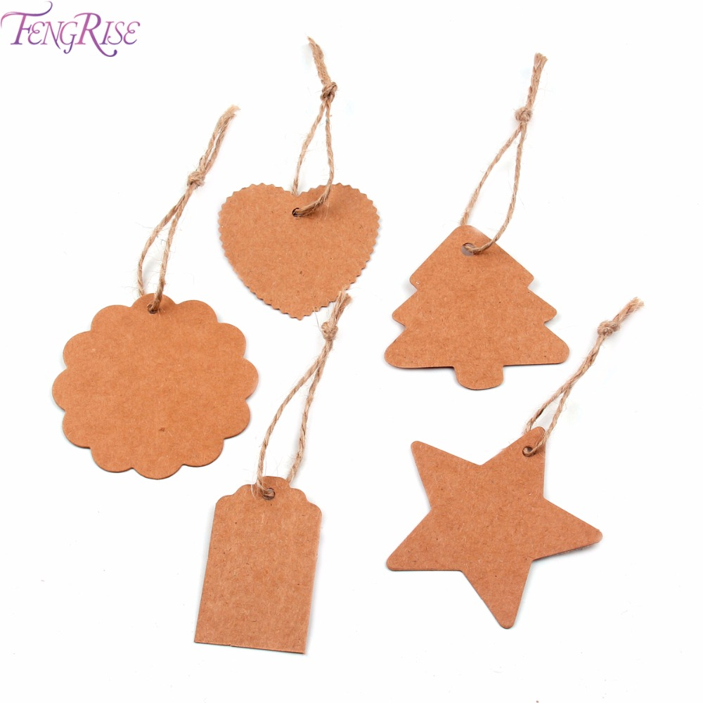Home & Garden Fengrise 50pcs Handmade With Love Sign Brown Diy Kraft Paper Tags Wedding Party Decoration Tags Birthday Party Label Supplies Party Diy Decorations