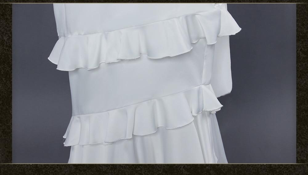 Overlord - Albedo White Dress Cosplay Costume