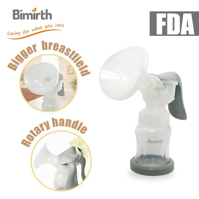 -Tipo de la mano sacaleches Sacaleches Extractor de leche Botella de Leche con función de succión Del Bebé Producto Del Bebé Alimentación S1012
