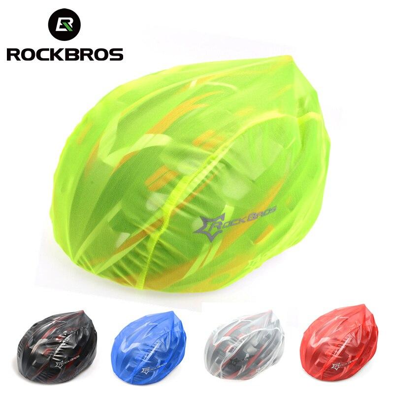 ROCKBROS ветрозащитный пылезащитный чехол для шлема водонепроницаемый велосипедный шлем непромокаемые ультра-легкие тканые шлемы