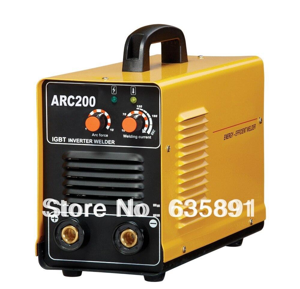 ARC200-IGBT inverter welding machine, MMA200 welding machine, ZX7-200 inverter welder inverter welding machine 2016 new model igbt inverter for mma welding machine for arc stick zx7200 free shipping 110v