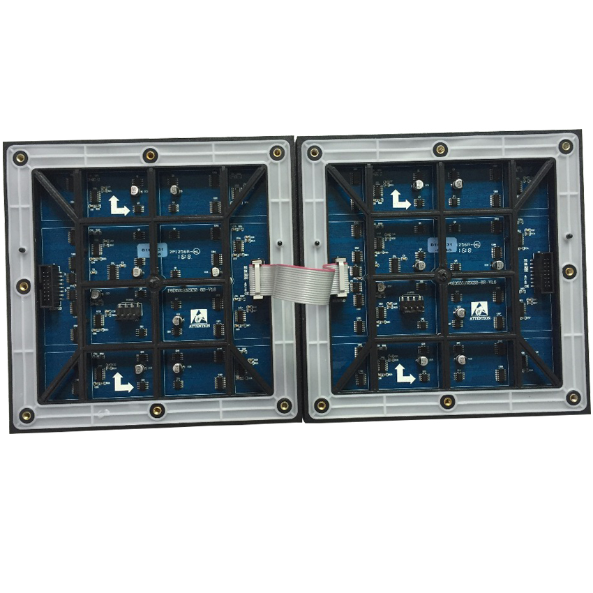 High Brightness Outdoor P6 SMD Led Module 192*192mm 1/8Scan 32*32dots For Rgb LED Display Screen Panel