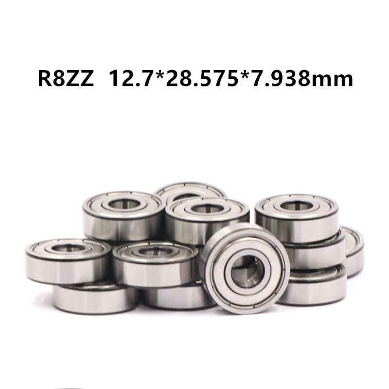 "Lot of 10 pcs R8 Shielded Ball Bearings 1//2/"" x 1-1//8/"" x 5//16/"" R8-ZZ"