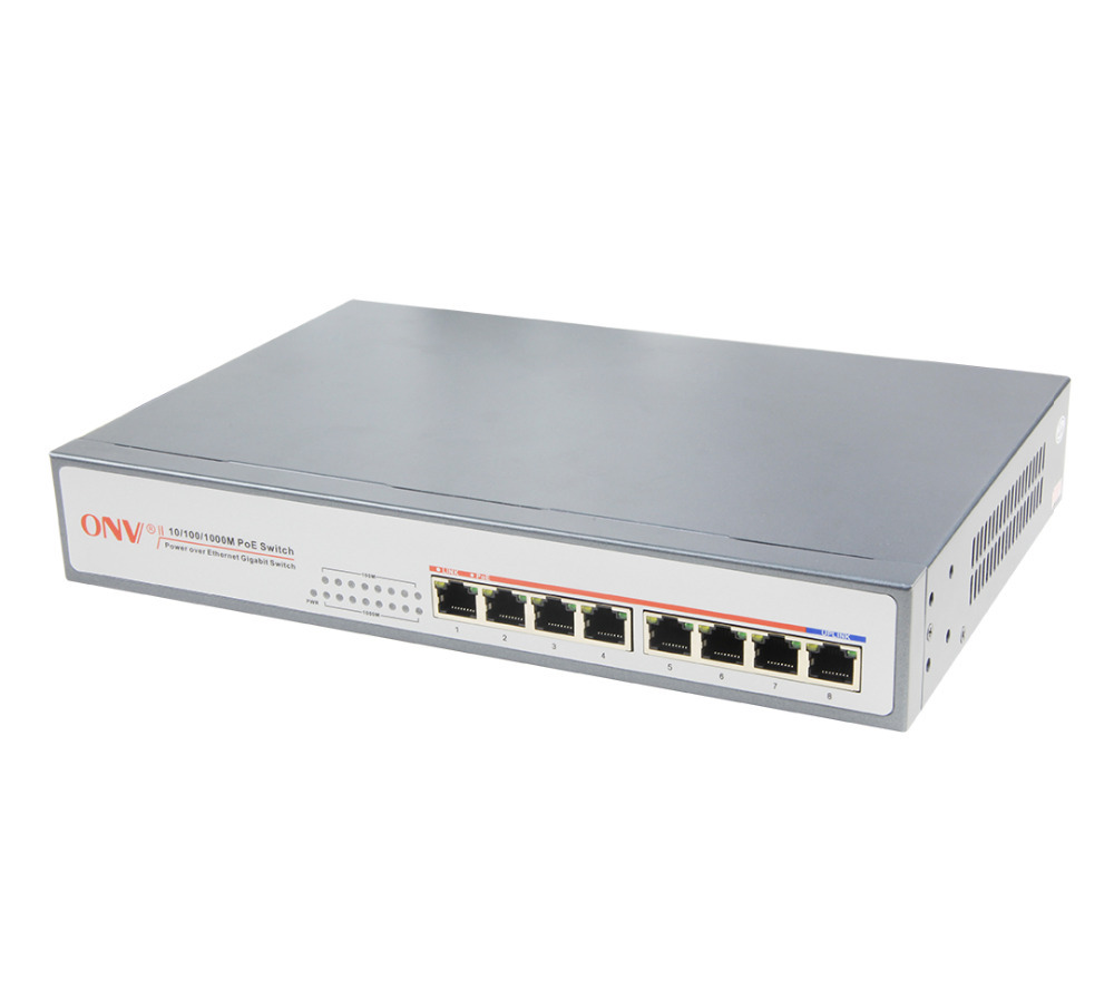 цена на 8-Port Gigabit PoE Switch with 7x 10/100/1000M RJ45 PoE Ports and 1x 10/100/1000M Uplink Port