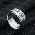 Punk Vintage Dragon Ring real 925 sterling silver 925 jewelry for Men Rngs fashion fine jewelry Thai Silver