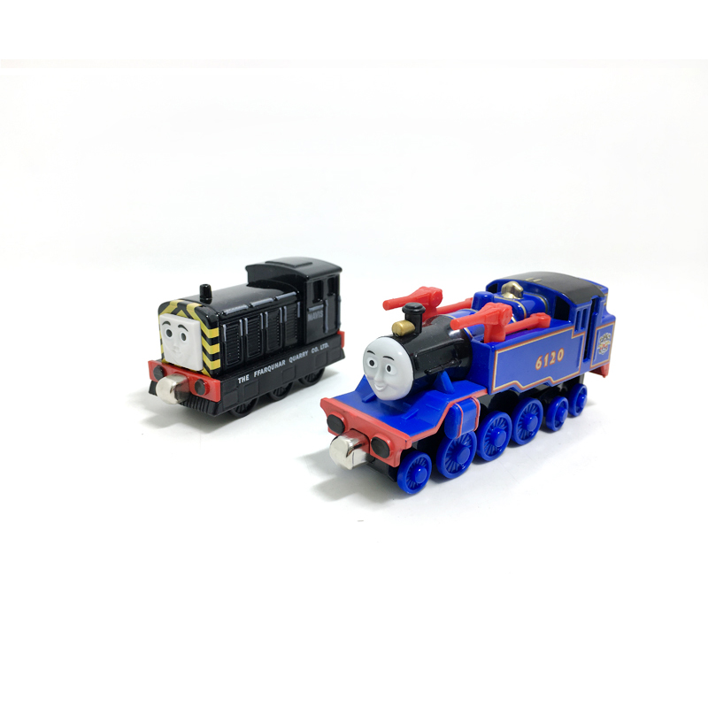 T0160 Diecast Magnetic THOMAS and friend Belle and Mavis The Tank Engine take along train metal children kids toy gift
