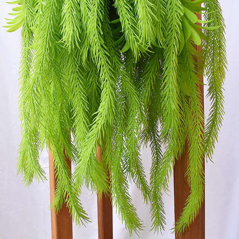 Plantes artificielles pulvériser couleur ananas herbe mur matériel simulé air herbe Tillandsia feuille eau plastique Succulent AEK001