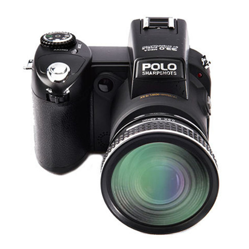 Protax D7100 33MP Risoluzione 13MP CMOS 3.0 di pollice TFT Lcd della Fotocamera Digitale 24X Zoom Ottico 8 XDigital Zoom con proiettori A LED