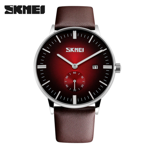 2017 Mens Watches Top Brand Luxury Quartz Watch Casual Leather Men Wrist Watch 30M Waterproof Date Male Clock Relogio Masculino Pakistan
