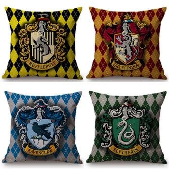 Harry Potter Dekorative Kissen Abdeckung Für Sofa Auto Hufflepuff