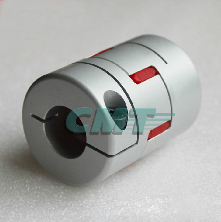 New No gap Clamping Aluminum alloys plum type coupling for servo and stepper motor couplings D=65 L=90mm D1 and D2 are 15 to 35  new flexible aluminum alloys double diaphragm coupling for servo and stepper motor couplings d 44 l 50 d1 and d2 are 8 to 20 mm