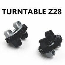 Building Blocks Bulk Technic Parts 2pcs/lot TECHNIC TURNTABLE Z28 compatible with lego for kids boys toy 4652236