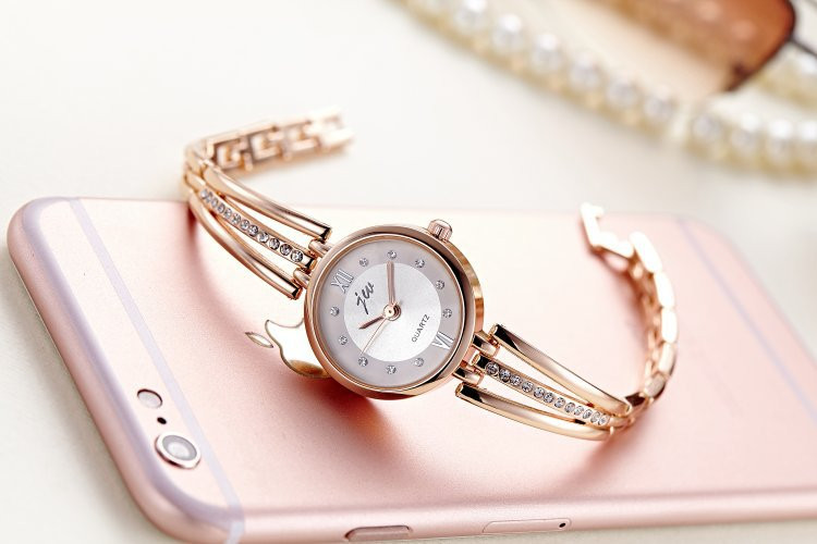 New Fashion Rhinestone Watches Women Luxury Brand Stainless Steel Bracelet watches Ladies Quartz Dress Watches reloj mujer AC070 15