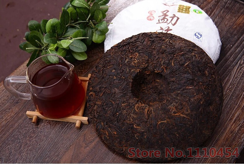 C-PE062 Classic 1762 ripe pu er tea 357g Slimming Black menghai cooked puerh puer tea 357 g Green food Free Delivery