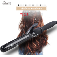 Professional 100 240V Global Voltage Curling Wand Hair Curling Iron