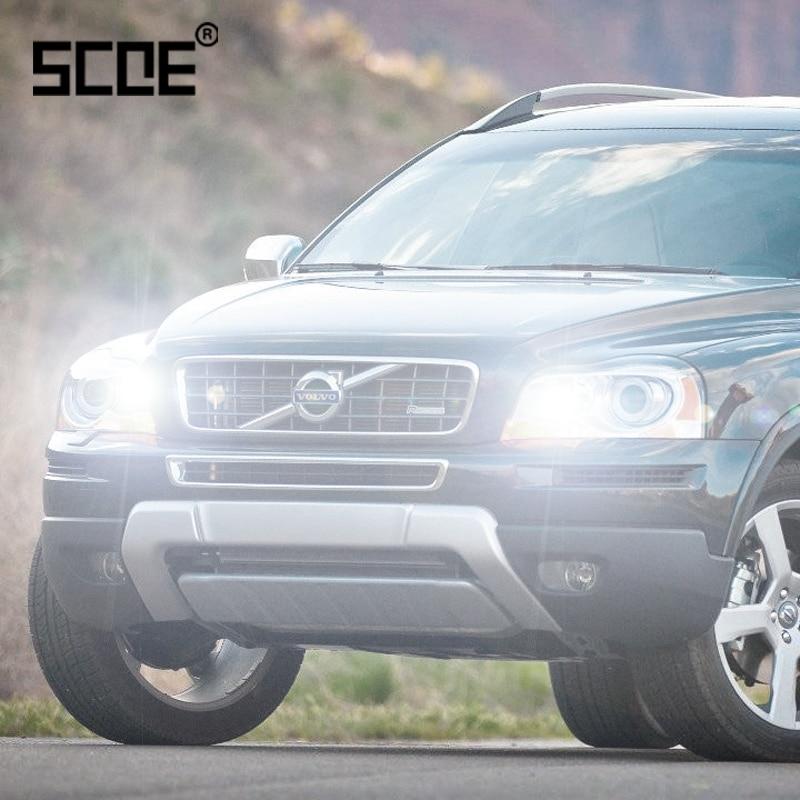 For Volvo C70 S60 V40 V70 XC60 XC70 XC90 SCOE 2PCS Auto High Beam Super Halogen Bulb Headlight Car Styling Warm White